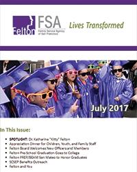 Felton Institute Newsletter for July 2017.