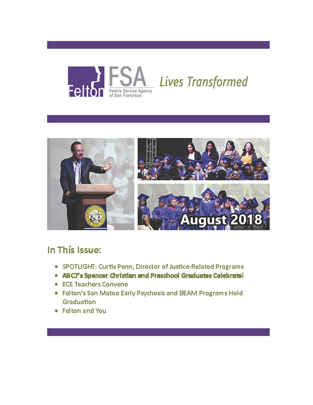 Felton Newsletter for August 2018 - Page 01.